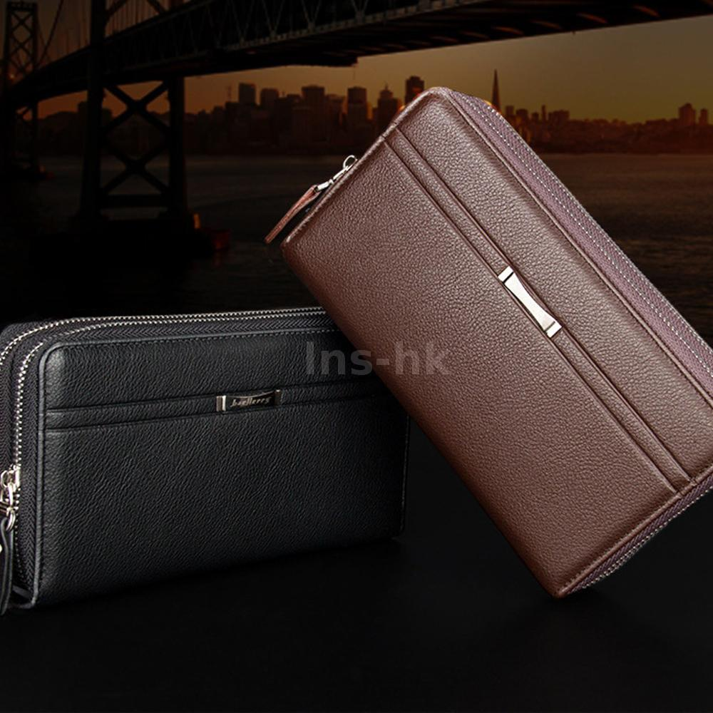 bef7803b97 Long style with classical color gives you a stylish feeling. Superior PU  leather looks glossy and feels good.